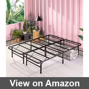 Best sturdy bed frame for active couple