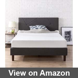 king size metal platform bed frame